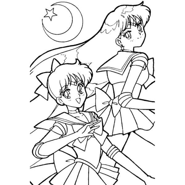 Stampa E Colora Sailor Moon
