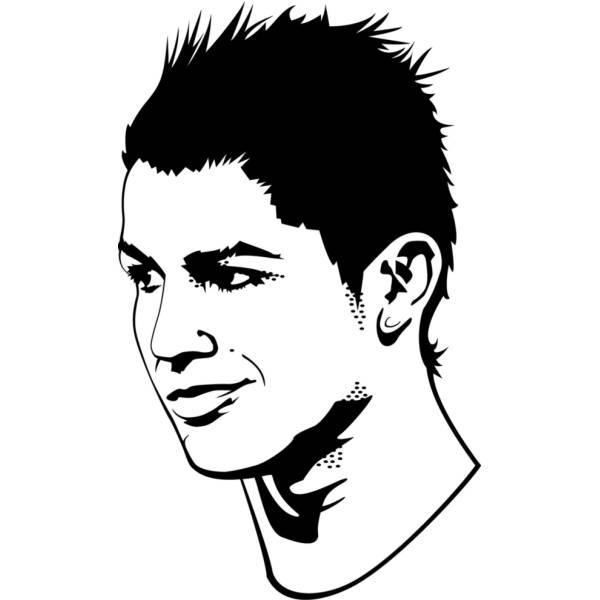 Disegni Da Colorare Calcio Ronaldo • Colorare.best