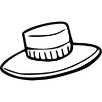 Disegno di Cappello da colorare per bambini ...