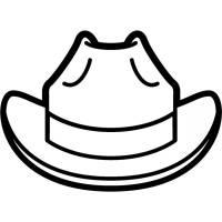 Disegno di Il Cappello da colorare per bambini