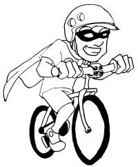 Biciclette Da Colorare Mondo Bimbo