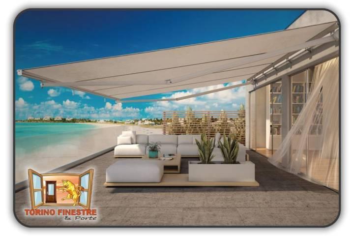 Le tende a braccio cassonate sono utilizzate esclusivamente per esterni e. Tende Da Sole A Bracci Su Barra Quadra Tenda Torino Prezzi Online