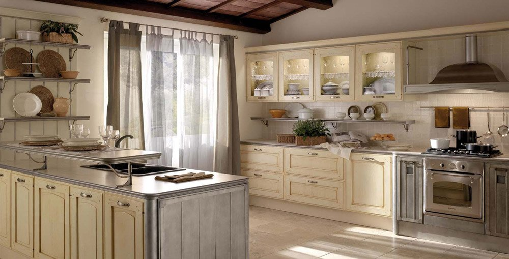Mobili per cucina Cucina Thuia da Gatto Cucine