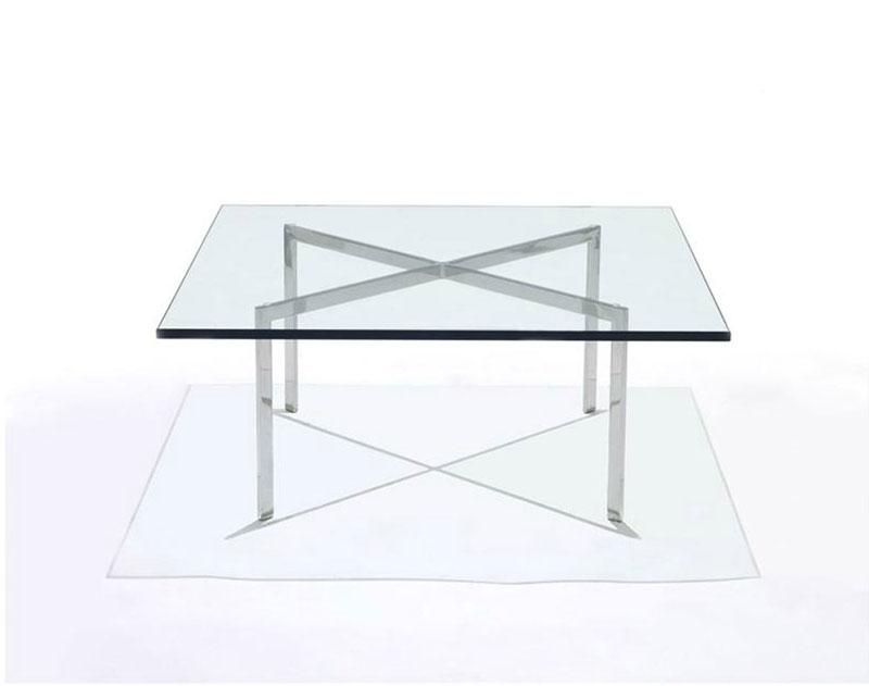 Tavolini: Tavolino Barcelona da Knoll