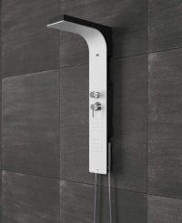 Shower Columns: Shower Panel Bliss by Glass 1989