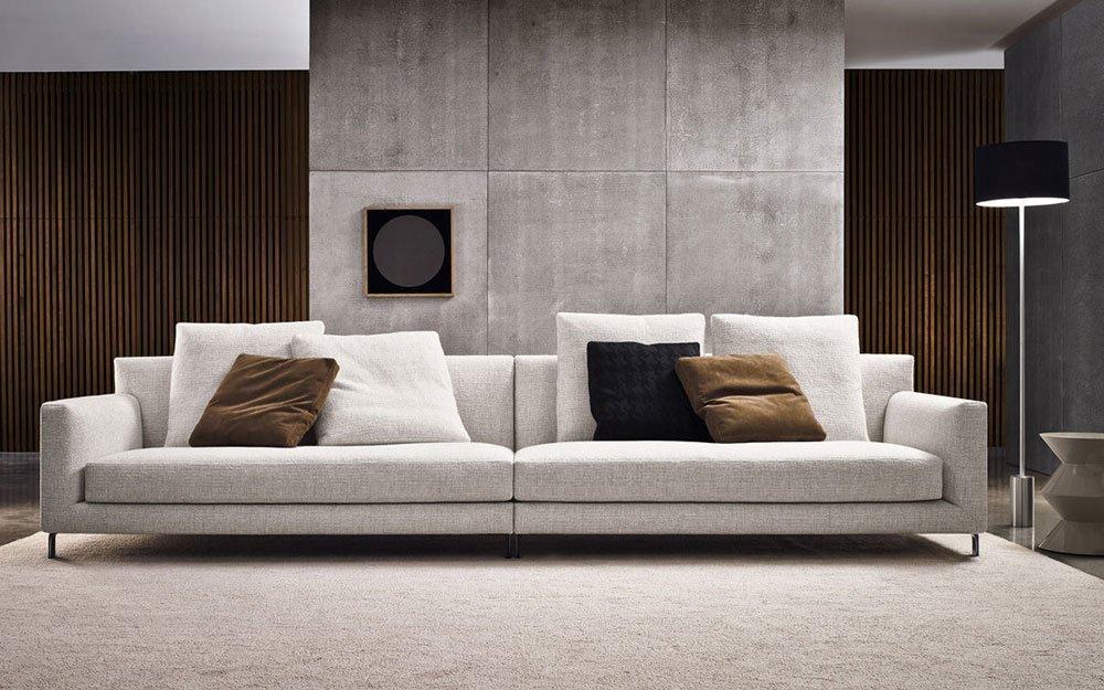 barletta sofa ethan allen reviews divani quattro o più posti: divano da minotti