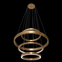 Pendant Lamps: Lamp Light Ring by Henge