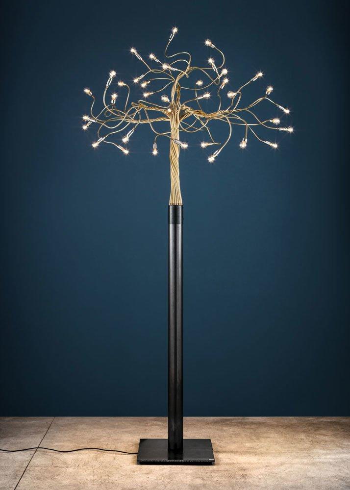 Lampade da terra Lampada Albero della Luce da Catellani  Smith