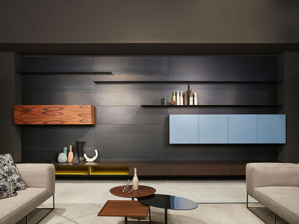 Porro Wohnwnde Wohnwand Modern  Designbest