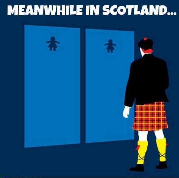 Nel frattempo in Scozia