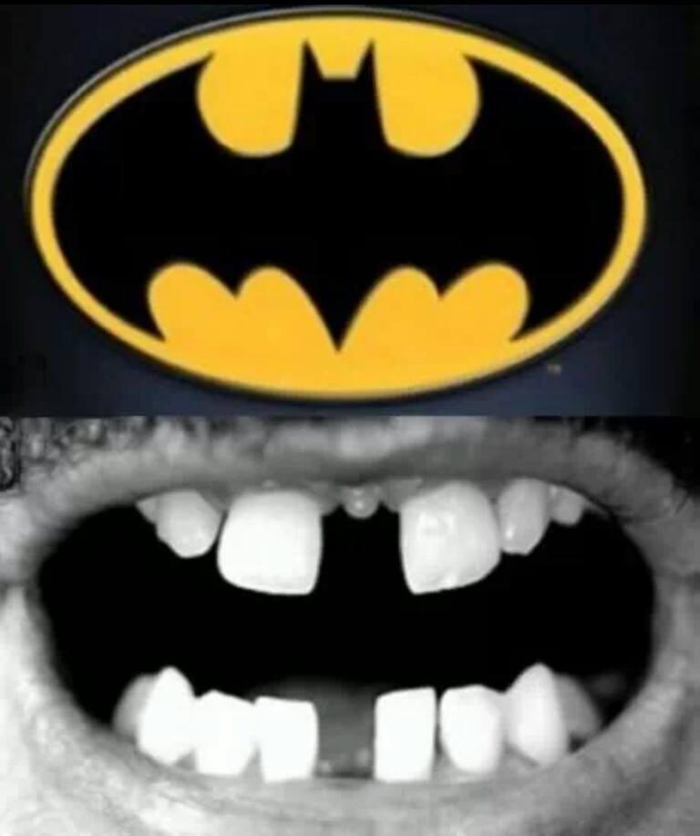 batman e denti