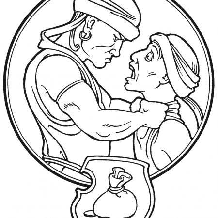 Matthew 1821 35 Colouring Pages Sketch Coloring Page