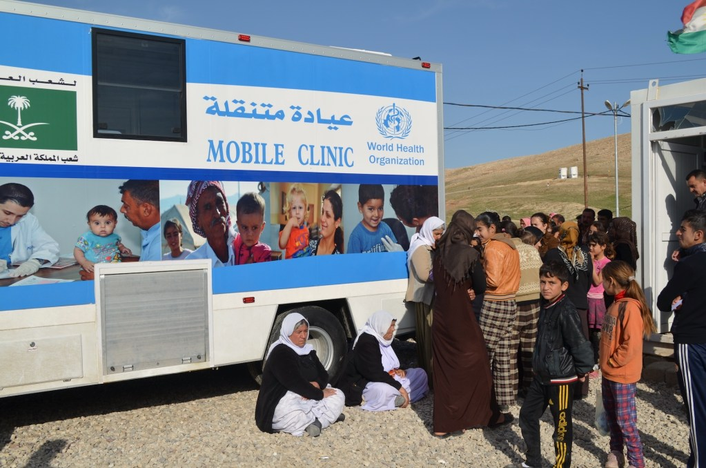 immap deploys three imos to iraq to support the world health