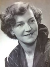 Margaret Irene Fox (nee Gibson) 1946,  1925 – 2016
