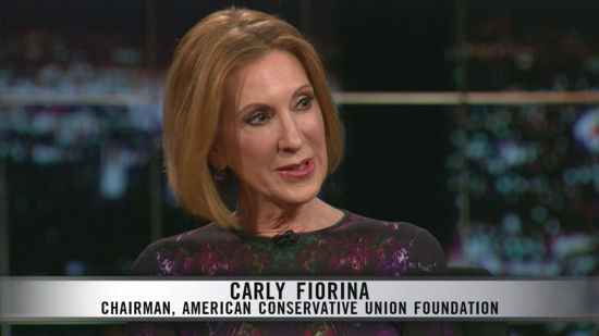 Immediate Safety Interviews Carly Fiorina
