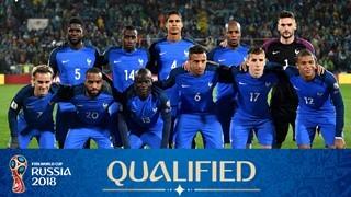 teamfoto voor France