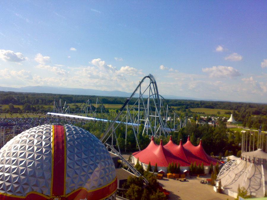 Themenparks - Europapark Aussicht