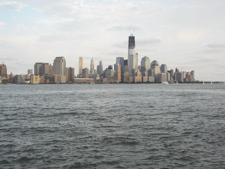 New York City Skyline von Hoboken aus