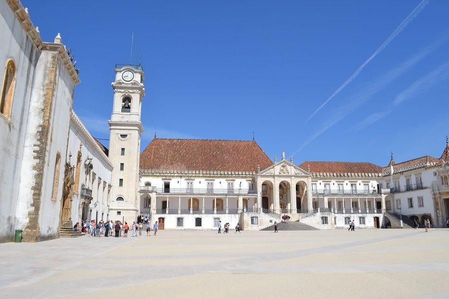 Sebastian war mit seiner Mutter in Coimbra