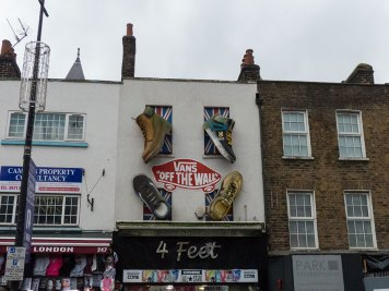 "Camden Street-Art ""Vans"""