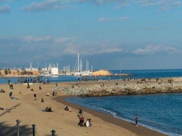 Pltja de la Barceloneta Yachthafen