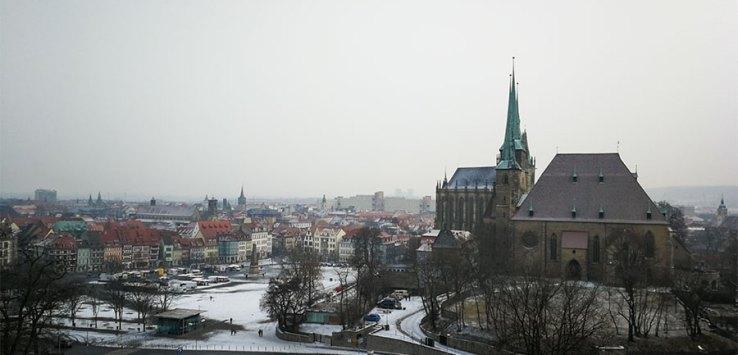 Erfurt mit dem Huawei P10