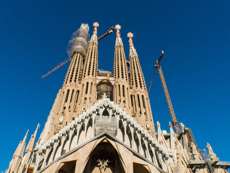 Sagrada Familia Ausgang