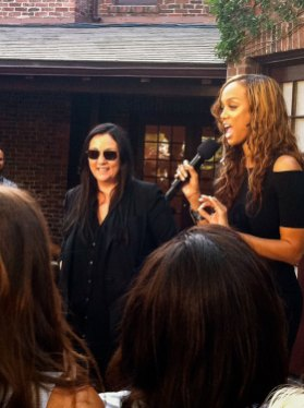Rückkehr nach Los Angeles - Tyra Banks bei American Next Topmodels