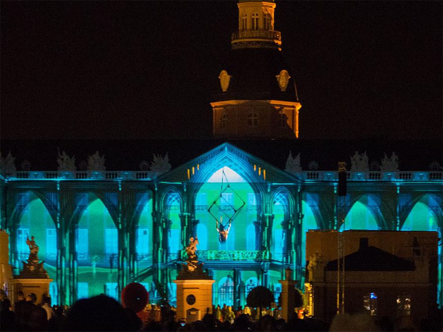Karlsruher Schlosslichtspiele Akrobat I'IMMORTAL