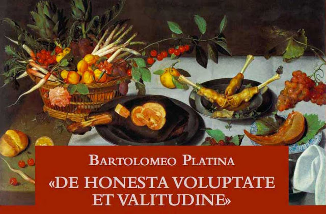 Manoscritto di Bartolomeo Scacchi, primo sostenitore di Mastro Martino.