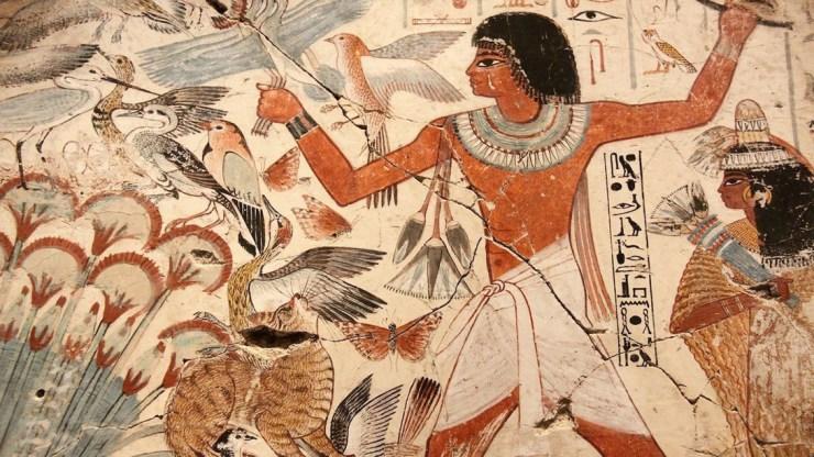 Antico Egitto a tavola, la caccia.