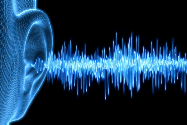 3d image rendering of Remote Audio Sound waves