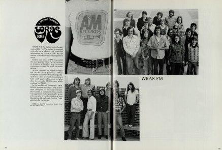WRAS staff circa 1975