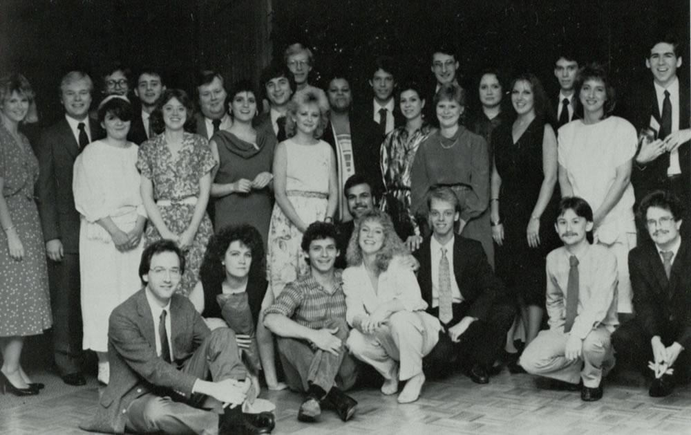 WRAS staff circa 1986