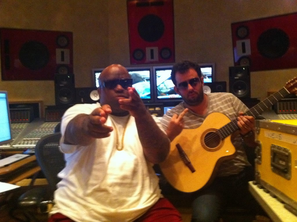 Graham Marsh and Cee Lo