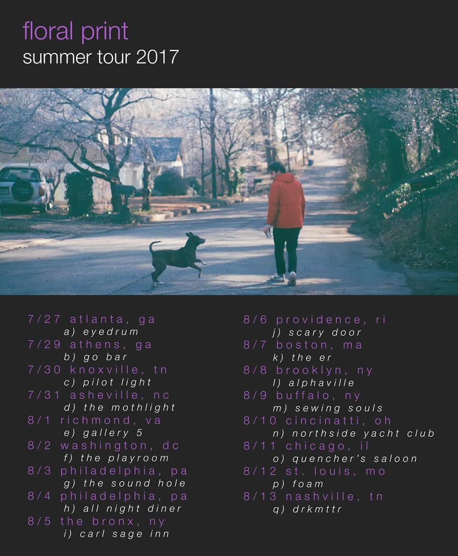 floral print tour