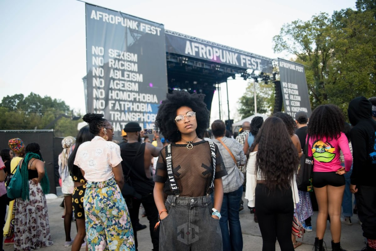 Chloe Gibble at AFROPUNK Atlanta