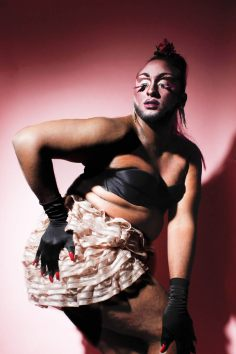 Polly Nation, drag performer & host