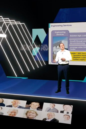 Thales virtual conference production by Immersive AV