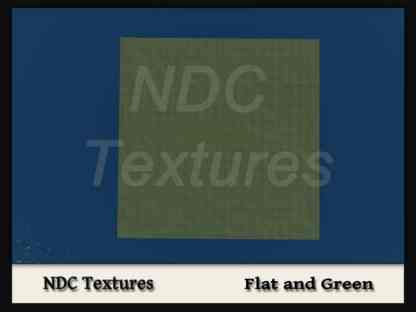 Flat and Green Terrain File by NDC Textures