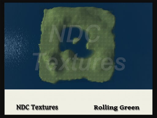 Rolling Green Terrain File by NDC Textures - Immersive Digital Textures,  Books & Terrain Files