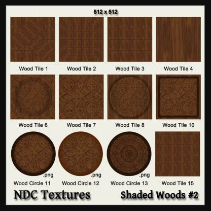 Shaded Woods #2 Texture Pack by NDC Textures