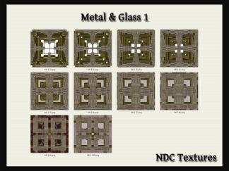 Metal & Glass 1 Texture Pack by NDC Textures