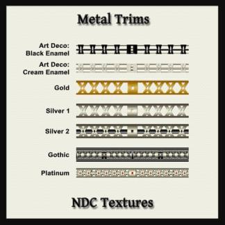 Metal Trims Texture Pack by NDC Textures