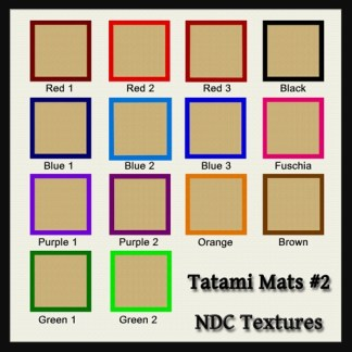 Tatami Mats #2 Texture Pack by NDC Textures