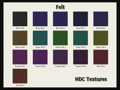 Felt Texture Pack by NDC Textures