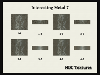 Interesting Metal 7 Texture Pack by NDC Textures