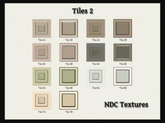 Tiles 2 Texture Pack Contact Sheet