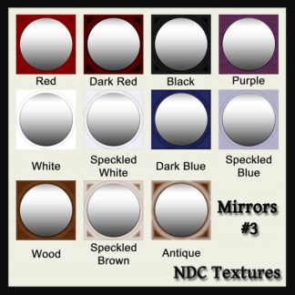 [Immersive Digital] NDC-T012 Mirrors #3 Texture Pack Contact Sheet
