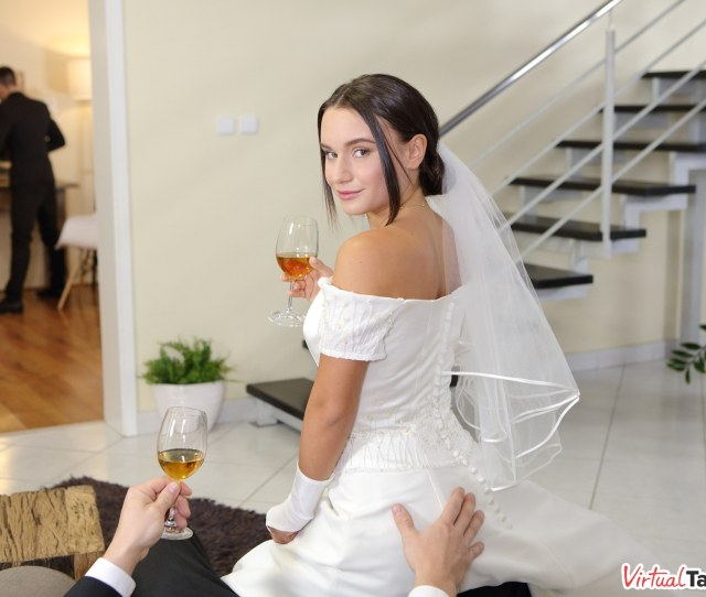 Naughty Bride Getting Touched On The Ass By Her New Father In Law